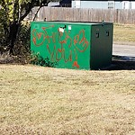 Graffiti Complaint at 1950 Watauga Rd