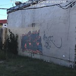 Graffiti Complaint at 1101 Oak Grove Rd